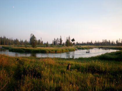 Bechler River Trail in Yellowstone