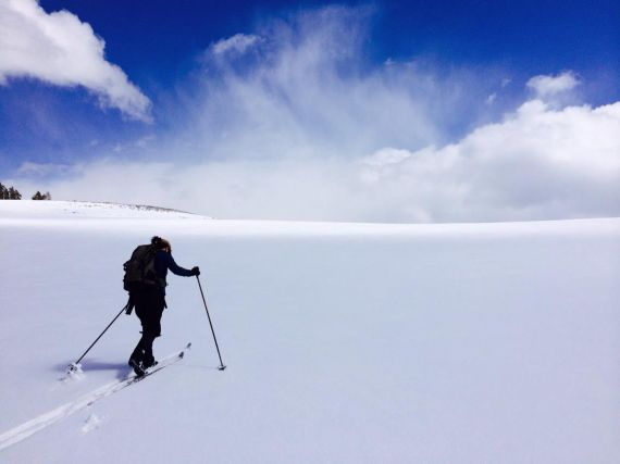 Cross-country skiing in Yellowstone - Yellowstone Guidelines