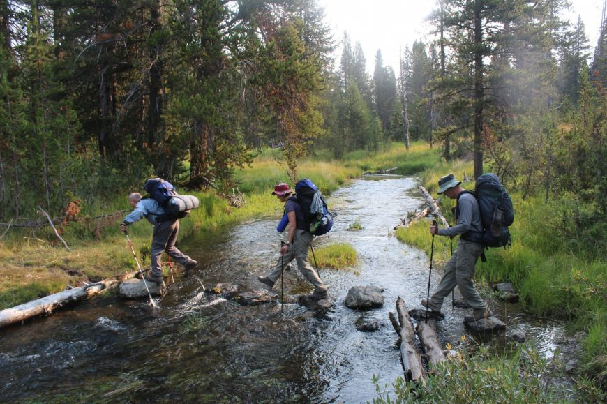 Bechler River Trail - Yellowstone Backpacking - Yellowstone Guidelines