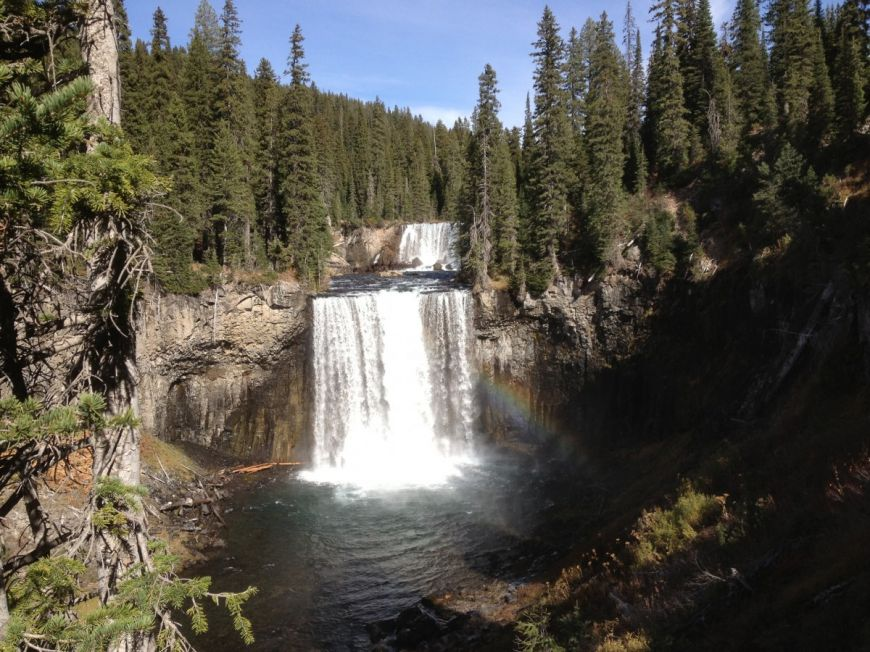 Colonnade Falls - Yellowstone Guidelines