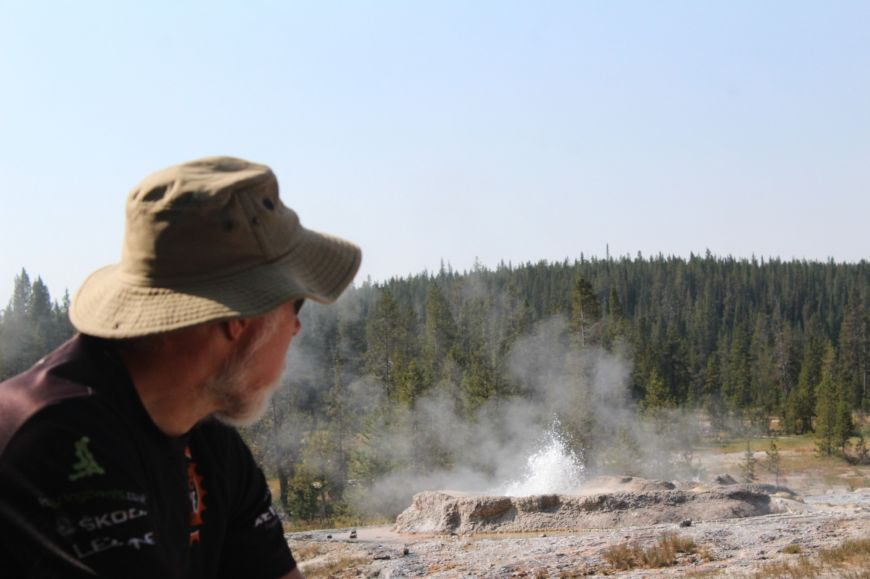 Shoshone Geyser Basin - Bechler River Trail - Yellowstone Backpacking - Yellowstone Guidelines