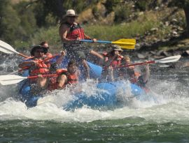 Whitewater Rafting on the Yellowstone River