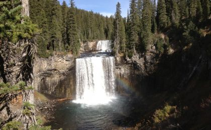 Colonmade Falls - Bechler River Trail