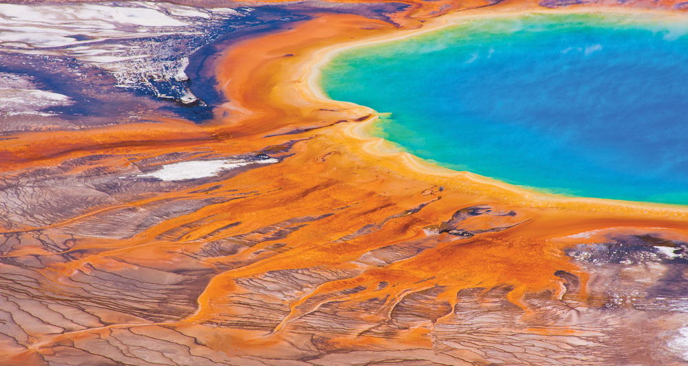 grand prismatic springs, Yellowstone, hot springs